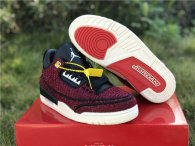 "Authentic Vogue x Air Jordan 3 ""AWOK"" University Red"