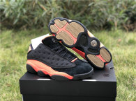 "Authentic Clot x Air Jordan 13 Low ""Black Infrared"""