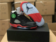 Authentic Air Jordan 5 Statin Bred