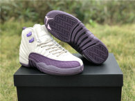 Authentic Air Jordan 12 GS Dark Purple Dust