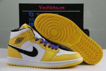 """Authentic Air Jordan 1 Mid """"Lakers"""""""