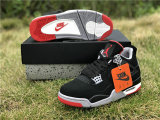 Authentic Air Jordan 4  Bred  2019