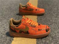 Authentic Nike Air Force 1 Orange Blaze