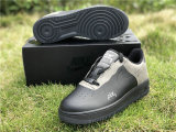 Authentic A-Cold-Wall* x Nike Air Force 1 Low Black/Dark Grey