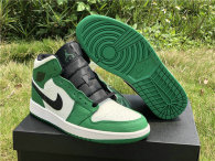 "Authentic Air Jordan 1 Mid SE ""Pine Green"""