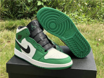 "Authentic Air Jordan 1 Mid SE ""Pine Green"""