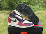 Authentic Nike SB x Air Jordan 1 GS Court Purple/Sail