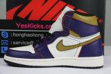 Authentic Nike SB x Air Jordan 1 Retro High OG Court Purple/Sail