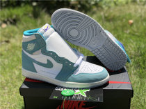 "Authentic Air Jordan 1 ""Turbo Green"""