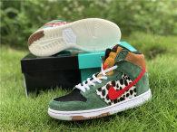 "Authentic Nike SB Dunk High ""Dog Walker""  (women)"