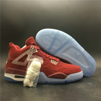 Authentic Air Jordan 4 Oklahoma Sooners PE