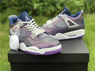 "Authentic Air Jordan 4 GS ""Monsoon Blue"""