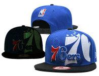 NBA Philadelphia 76ers Snapback Hat (23)