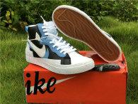 Authentic Sacai x Nike Blazer Mid Black/University Blue