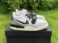 Authentic Air Jordan Legacy 312 Low Summit White/Fire Red