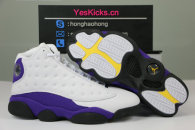 "Authentic Air Jordan 13 ""Lakers Rivals"""
