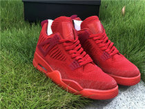Authentic Air Jordan 4 Flyknit RED