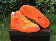 Authentic Air Jordan 4 Flyknit Orange