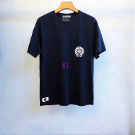 Chrome Hearts short round collar T-shirt M-XXL (49)