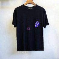Chrome Hearts short round collar T-shirt M-XXL (29)