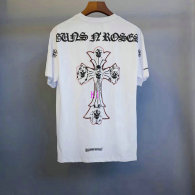 Chrome Hearts short round collar T-shirt M-XXL (27)