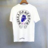Chrome Hearts short round collar T-shirt M-XXL (33)