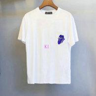 Chrome Hearts short round collar T-shirt M-XXL (32)