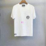 Chrome Hearts short round collar T-shirt M-XXL (51)