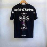 Chrome Hearts short round collar T-shirt M-XXL (25)