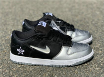 Supreme x Nike SB Dunk Low Metallic Silver-Black