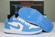 "Authentic Nike SB x Air Jordan 1 Low ""UNC"""