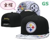 NFL Pittsburgh Steelers Kid Snapback Hat (1)