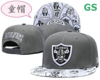 NFL Oakland Raiders Kid Snapback Hat (1)