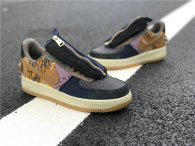 Authentic Travis Scott x Nike Air Force 1 Low Multi-Color/Muted Bronze GS