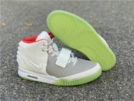 """Authentic  Nike Air Yeezy 2 """"Pure Platinum"""" (3M Reflective)"""