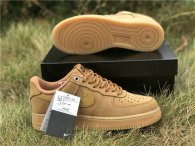 Authentic Nike Air Force 1 Gum Light Brown GS