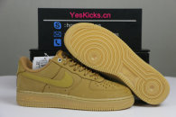 Authentic Nike Air Force 1 Gum Light Brown