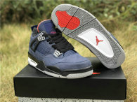 "Authentic Air Jordan 4 WNTR ""Loyal Blue"""
