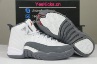 "Authentic Air Jordan 12 GS ""Dark Grey"""