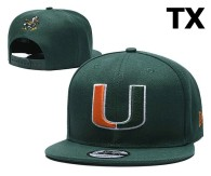 NCAA Miami(FL)Hurricanes Snapback Hat (2)