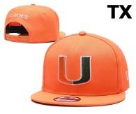 NCAA Miami(FL)Hurricanes Snapback Hat (3)
