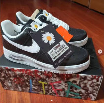"PEACEMINUSONE x Nike Air Force 1 ""Para-noise"" BLACK/WHITE GS"