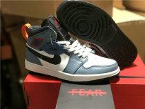 "Authentic Facetasm x Air Jordan 1 Mid ""Fearless"""