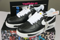 "PEACEMINUSONE x Nike Air Force 1 ""Para-noise"" BLACK/WHITE"