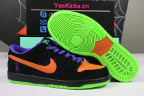 "Authentic Nike SB Dunk Low ""Night of Mischief"" (Glow In The Dark)"