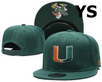 NCAA Miami(FL)Hurricanes Snapback Hat (4)