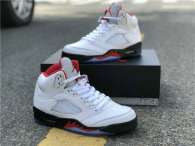 "Authentic Air Jordan 5 GS ""Fire Red"""