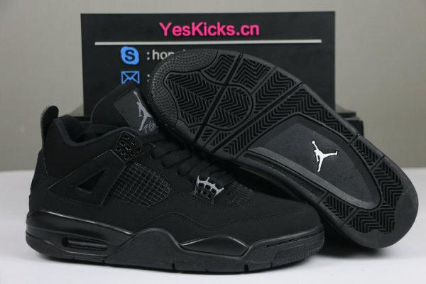 Authentic Air Jordan 4  Black Cat 2020