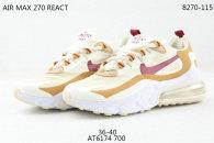 Nike Air Max 270 React Women Shoes (33)
