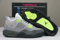 "Authentic Air Jordan 4 ""Neon"""